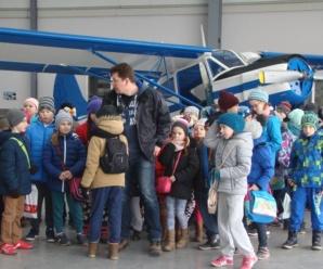Wizyta w Aeroklubie Ziemi Zamojskiej