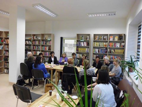 Spotkanie z Sienkiewiczem w bibliotece w Wysokiem