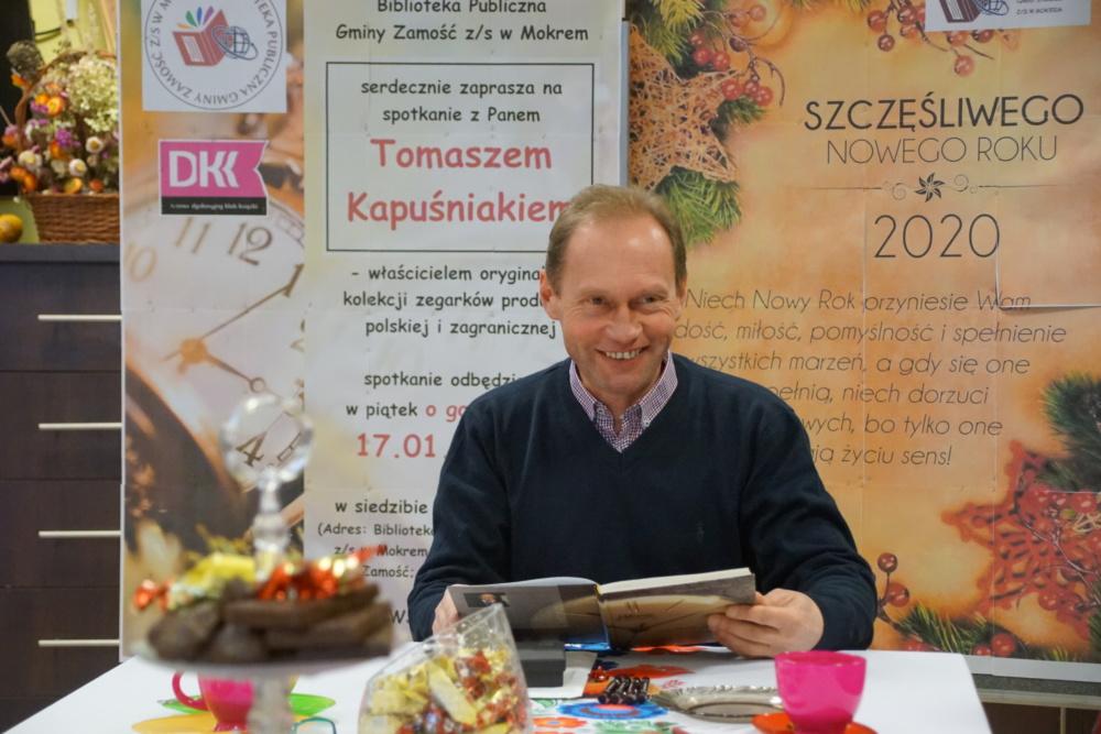 spotkanie z Panem Tomaszem Kapuśniakiem