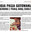 Moja pasja gotowania 🥗 – rozmowa z Panią Anną Zgnilec