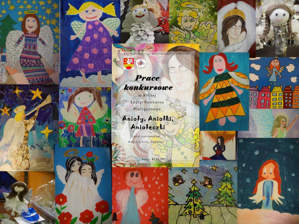 ANIOŁY2021 - collage z prac nagrodzonych