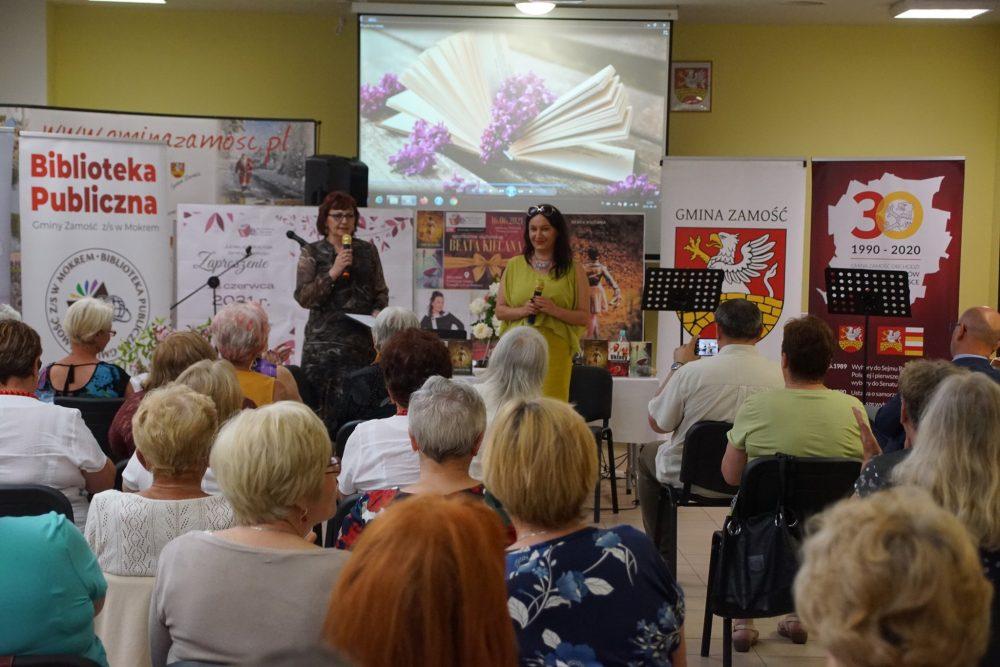 Beata Kiecana - spotkanie autorskie