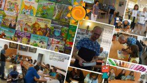 Wakacje z Biblioteką 12 sierpnia 2021 (warsztaty literackie z Jarosławem Siekiem)